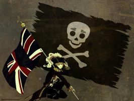 Request - Pirate England Wall by Didi-hime