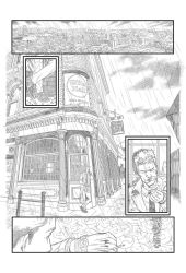 Hellblazer sample #1 by CanalesComics