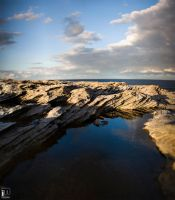 Cliff reflections by ximo