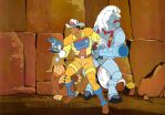 BraveStarr and Friends by queengrayskull