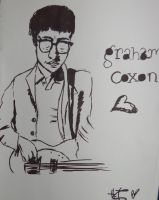Graham Coxon shaddow picture by The-Cyclops