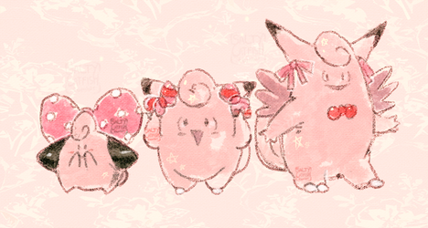 PKMN: Bows by saltycatfish