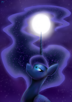 Mare by Moonlight by CoffeeAddictedDragon