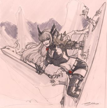 Raw Sketch : Magik by ThomasBlakeArtist