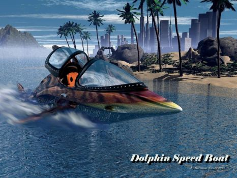 Dolphin Speed Boat by oigaitnas