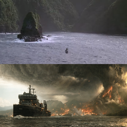 The Opening and Ending of Isla Nublar by MnstrFrc