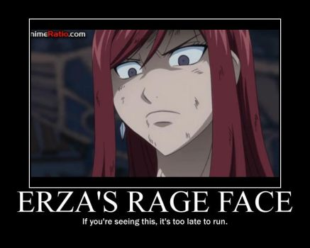 FT-MP Erza's Rage Face by ArcCrimsonhart