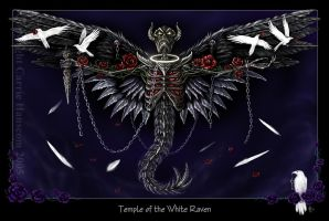 Temple of the White Raven by Aerin-Kayne