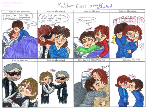 Mcstarr Kisses Meme by Strabius