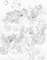 Sea Ponies by tearsofthunder