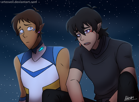 VLD|Klance|LK2AU|Theres A Darkness In Me Too. by ArtesVeil