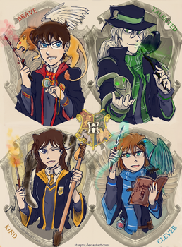 [Detective Conan - Harry Potter Crossover] by StaryVu