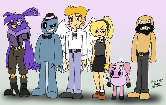 Planet Dolan - Mirror Universe Support Cast by tmntsam