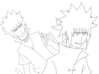 Yondaime Lines by Warbaaz1411