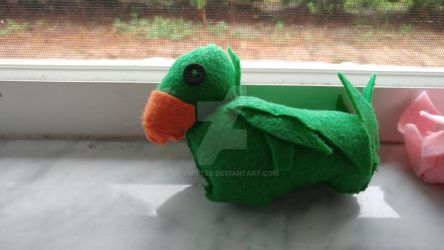 Green Chocobo WIP by Le-Smittee