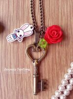 + Alice in Wonderland Necklace + by SaraFabrizi