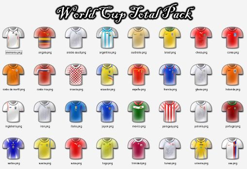 World Cup Icons Total Pack by wevenezuela