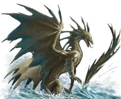 Bronze Dragon by BenWootten