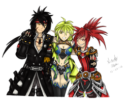 Elsword Third Classes by GaleSpider