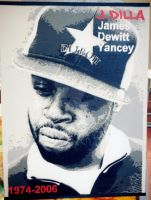 J Dilla by justbelikeshadow