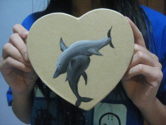 Dolphin Love. by dumbcreature