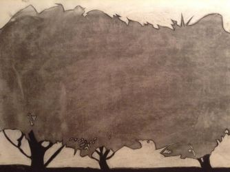 Hedge Silhouette by Elioma