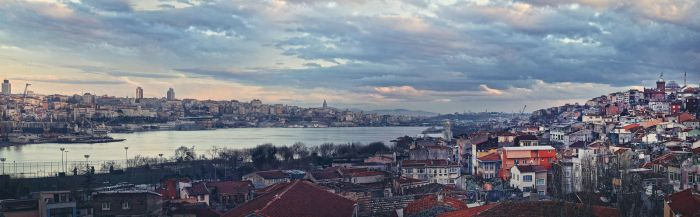 Golden Horn Panorama by okayaybey