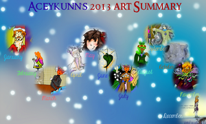 2013 art summary by Aceykunn