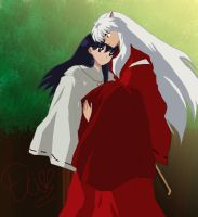 Inuyasha And Kagome by danit09182