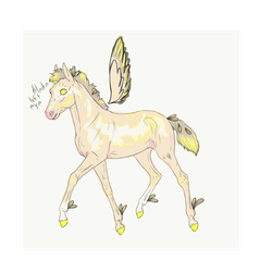 N2020 Just One YesterdayXGilded Wind | Foal Design by Dreamer12423