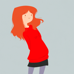 amy pond by whaup
