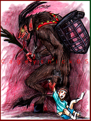 Krampus by Cageyshick05