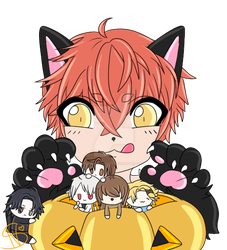 Mystic Messenger Halloween! by sweetienugget
