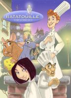 Ratatouille Moc Poster by Hesstoons