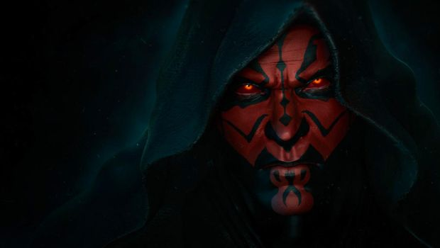 The Sith Lord, Darth Maul by synthesys
