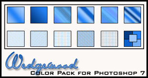 Wedgewood Color Pack by redbonniekidd