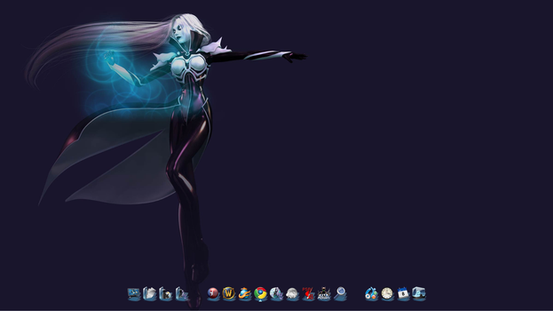 Current Desktop by waterdaughter