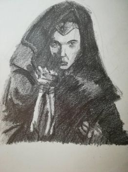 Wonder Woman value sketch by Andrix9743