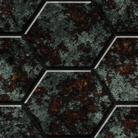 Hexagonal Metal Tiles 02 Remake by Hoover1979