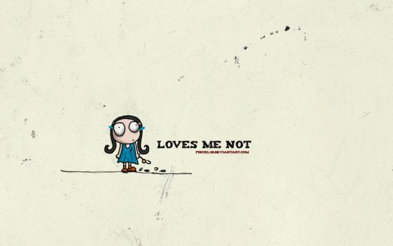 Loves me not by pincel3d