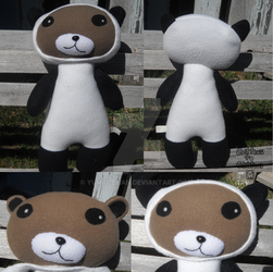 Panda Dress Up Bear by Yumio-chan