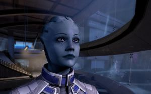 Liara wallpaper by MichaWha