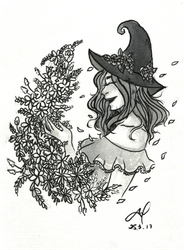 Seasonal Witch: Spring (Print Version) by TheWallFlower01
