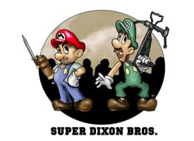 The Super Dixon Bros. by HeroforPain