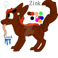 Wynder dragon: Zink by Redpandaseas