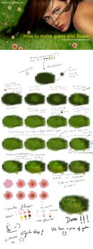 How to make grass by AURORY