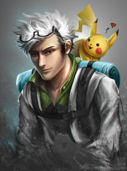 Pokemon GO: Professor Willow by EternaLegend