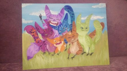 Lothcats (Oil paintings) by mlpariana