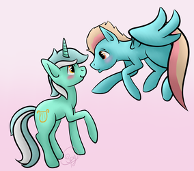 That Beautiful Mint-Green Mare by Spytefoil