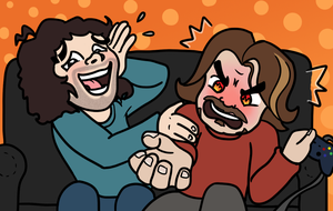 What Was That?! - Game Grumps Fan Art by ItoeKobayashi